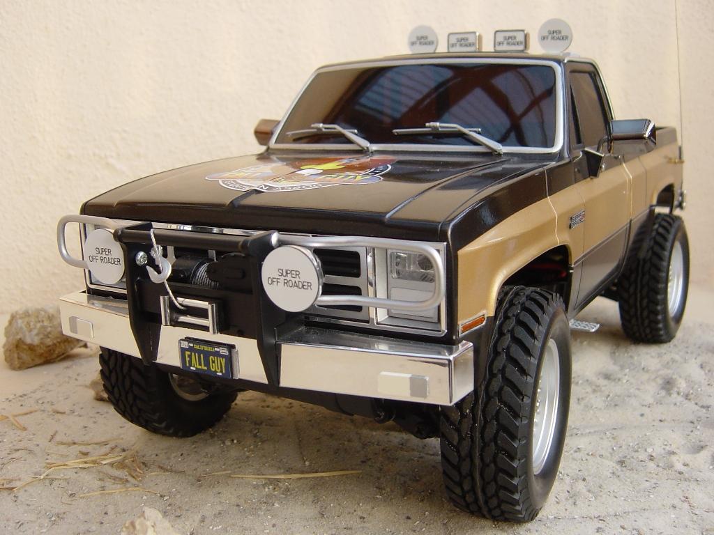 1 10 fall guy gmc pickup truck sierra grande 2500 off. Black Bedroom Furniture Sets. Home Design Ideas