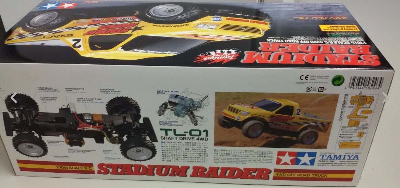 Tamiya Stadium Raider Nib 58246 Trade Archive