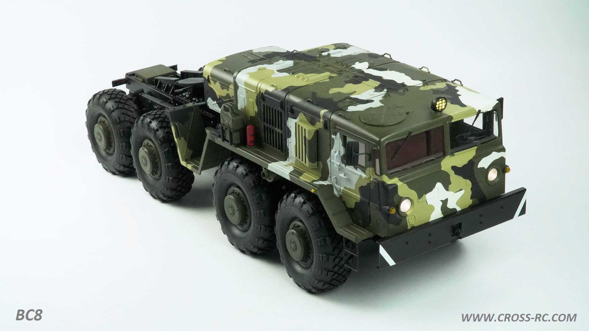 Cross-RC BC8 - Big Rigs and Scale Armour - Tamiyaclub com