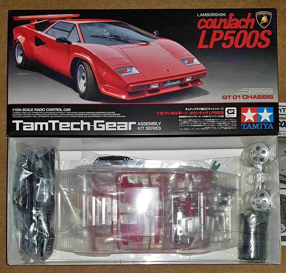 Tamtech Gear Gt 01 Lamborghini Countach Off Site Sales Plugs Tips