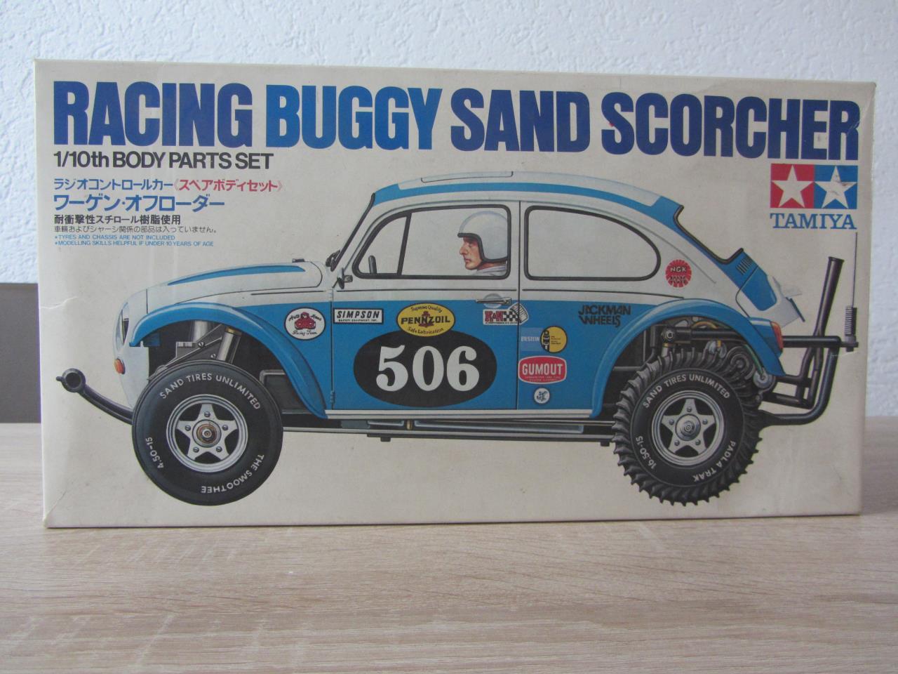 58016 Sand Scorcher original bodyset no. SP1111 - Tamiya RC & Radio ...