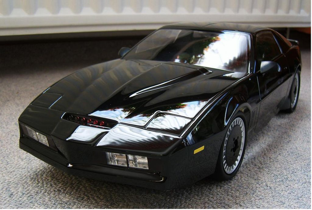 Knight Rider Car For Sale >> 1/10 Knight Rider Aoshima Body Set - Tamiya RC & Radio Control Cars