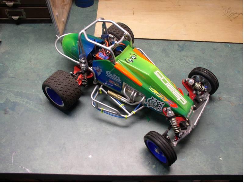 Big Boy Toys Cars : Sprint car conversion big boys toys rc talk the net s