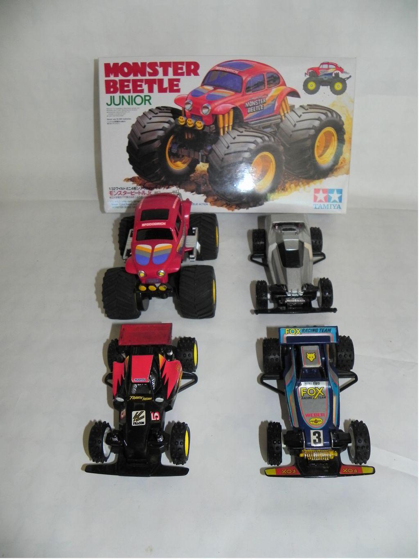 Mini 4WD Fox, Falcon, Monster Beetle, Super Sabre Lot