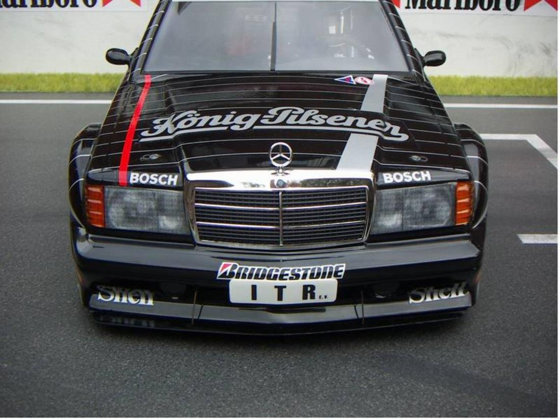 58108 mercedes benz 190e from deemiller showroom decals for Mercedes benz 190e front bumper