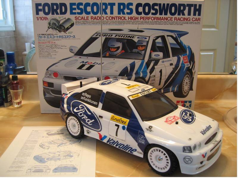 Escort wrc body kits