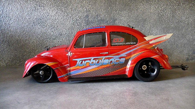 volkswagen beetle  maquettedecox showroom beetle pro stock tamiya rc radio
