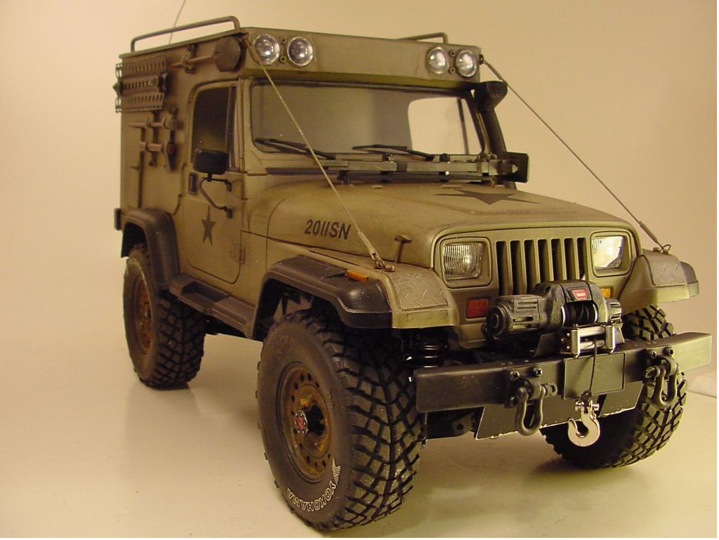 Types Of Jeeps >> 84071: Jeep Wrangler from Wyoming showroom, Jeep Wrangler expedition project 5 - Tamiya RC ...