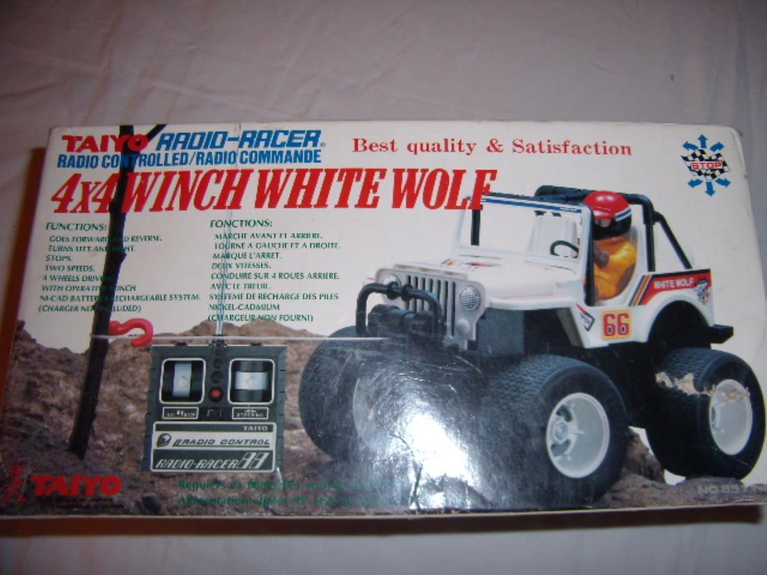 99999: Misc  from Mosshobby showroom, Taiyo 4x4 winch white wolf