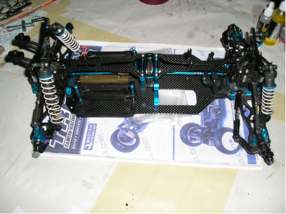 42183: TRF502X Chassis Kit from super gripper showroom