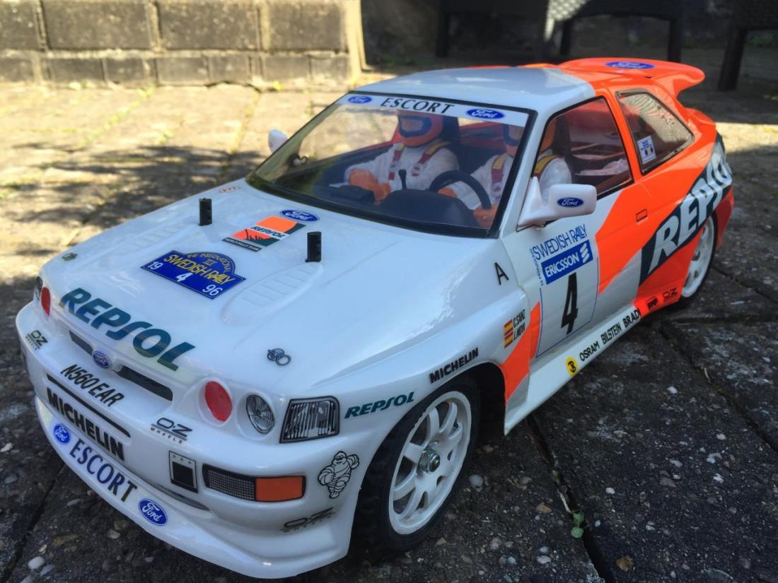 58176: Repsol Ford Escort RS from cavaliersri showroom, FORD ESCORT ...
