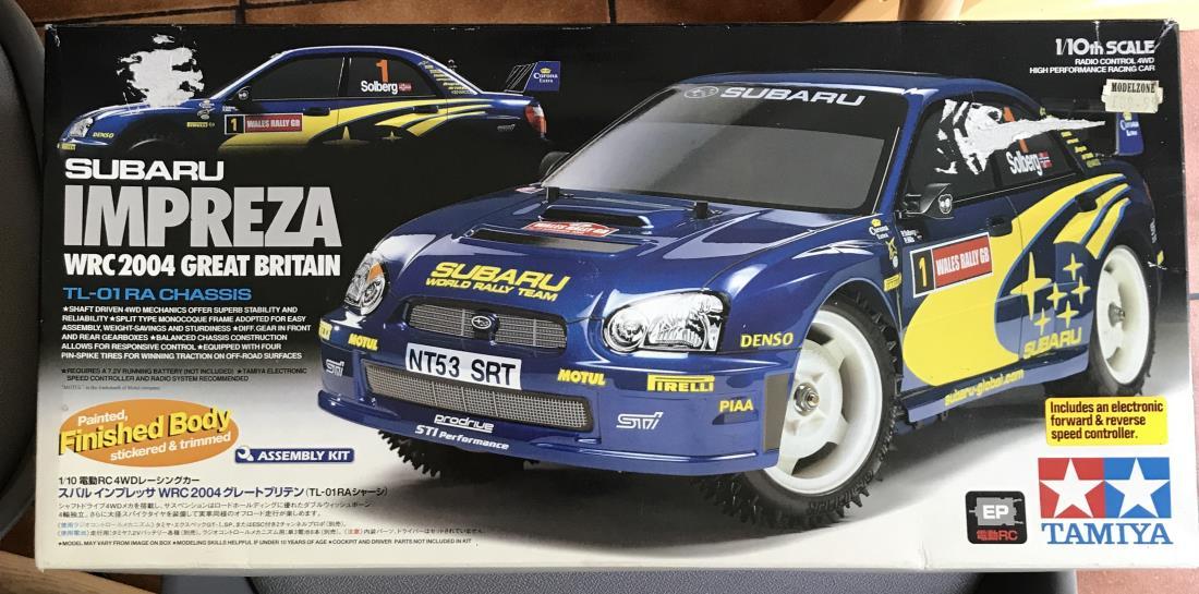 49352: Subaru Impreza WRC 2004 (TL-01RA Limited Edition) from ...