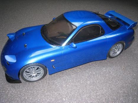 XB Mazda RX7 - Tamiya RC & Radio Control Cars