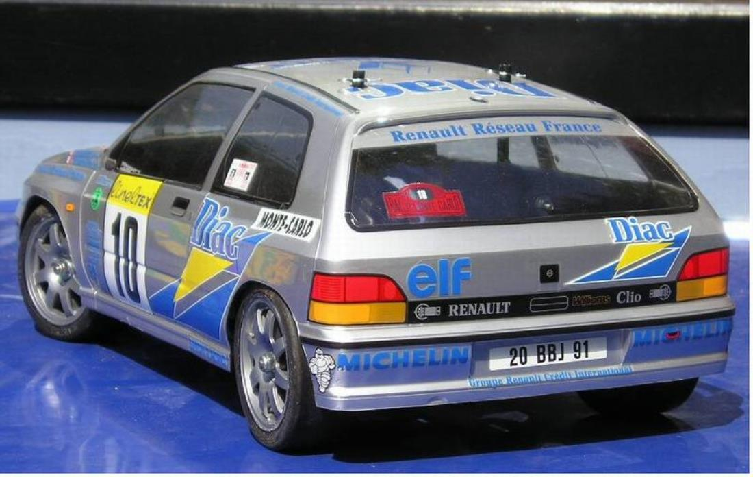 58138: Renault Clio Williams from sandmann showroom, Little Rally