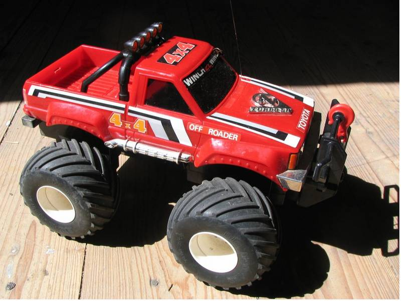 99999 Misc From Masterbsax Showroom Taiyo Toyota Hilux Monster Truck With Winch Tamiya Rc