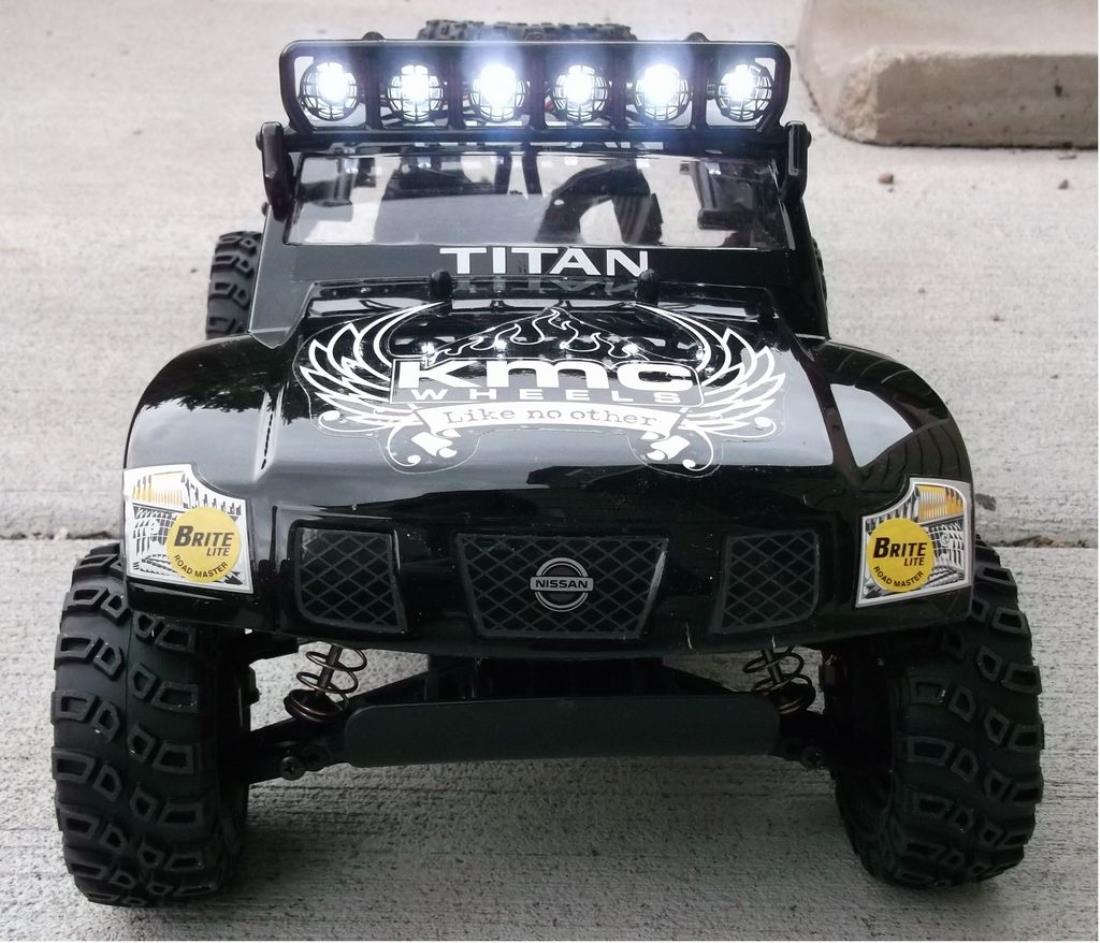 58511 nissan titan from pastimesteve showroom dt02 trophy truck rpm light bar and led lights aloadofball Gallery
