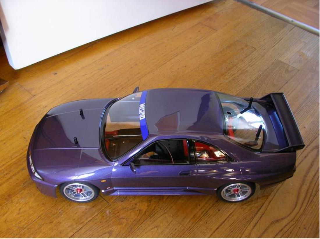 R33 Gt R Midnight Purple Paint