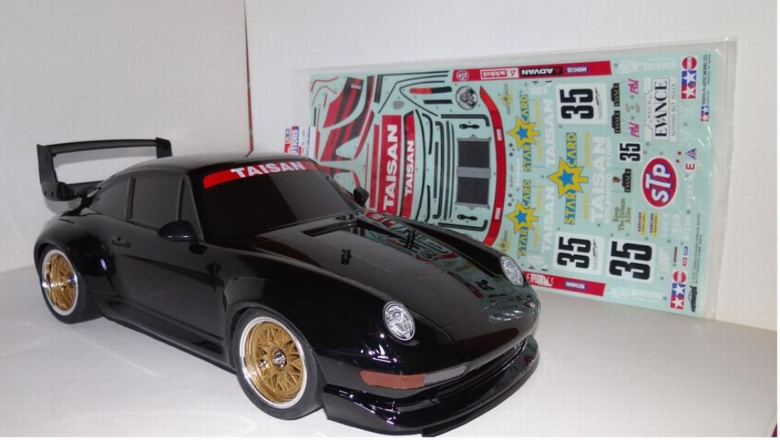 58172 taisan porsche 911 gt2 from t5films showroom not much to say the best looking tamiya. Black Bedroom Furniture Sets. Home Design Ideas