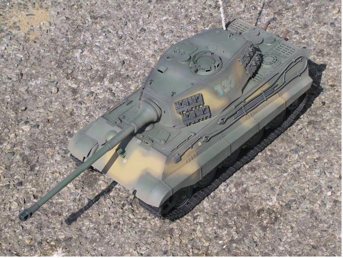 56018: King Tiger Production Turret ( DMD/MF ) from snollan showroom