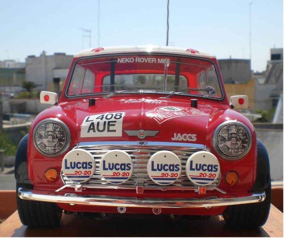 Salvage Kia Soul: 58163: Rover Mini Cooper Rally From Mediterraneo Showroom