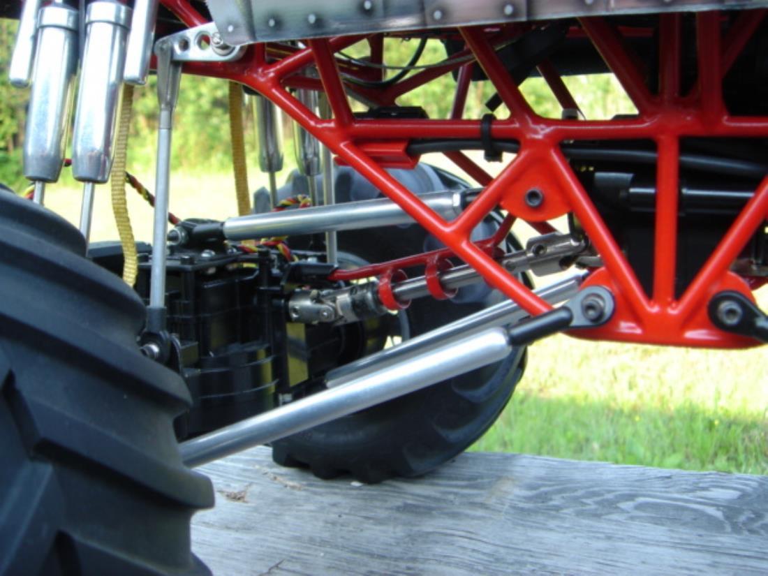 Monster Truck Rc Cars >> 58232: Juggernaut from slimmy showroom, boyer custom tube frame monster truck - Tamiya RC ...
