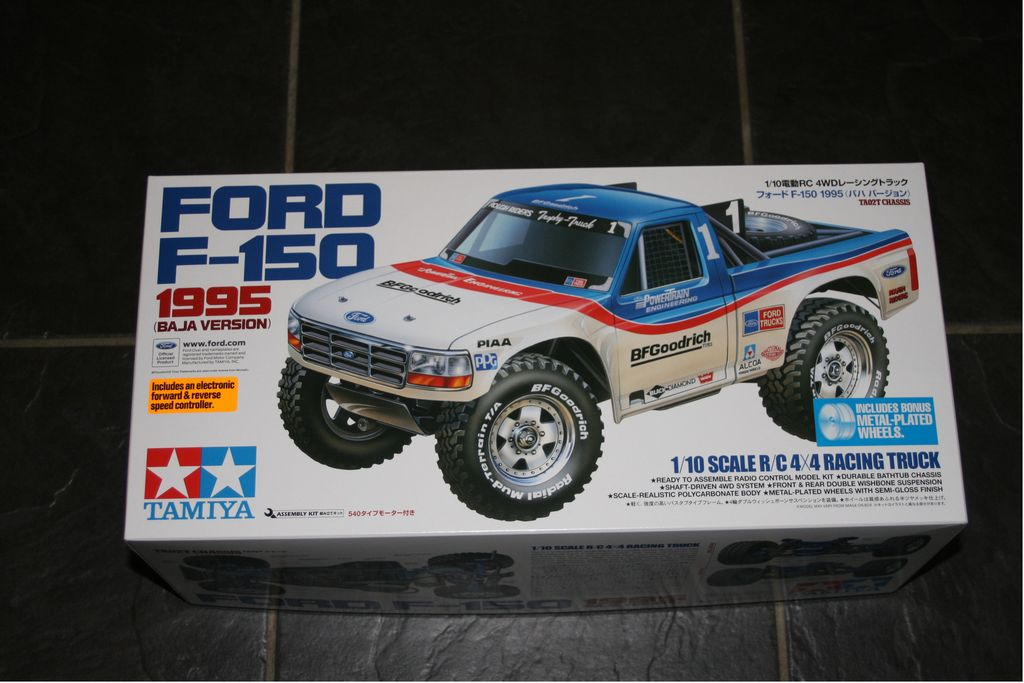 tamiya ford f 150 1995 baja version vintage tamiya. Black Bedroom Furniture Sets. Home Design Ideas