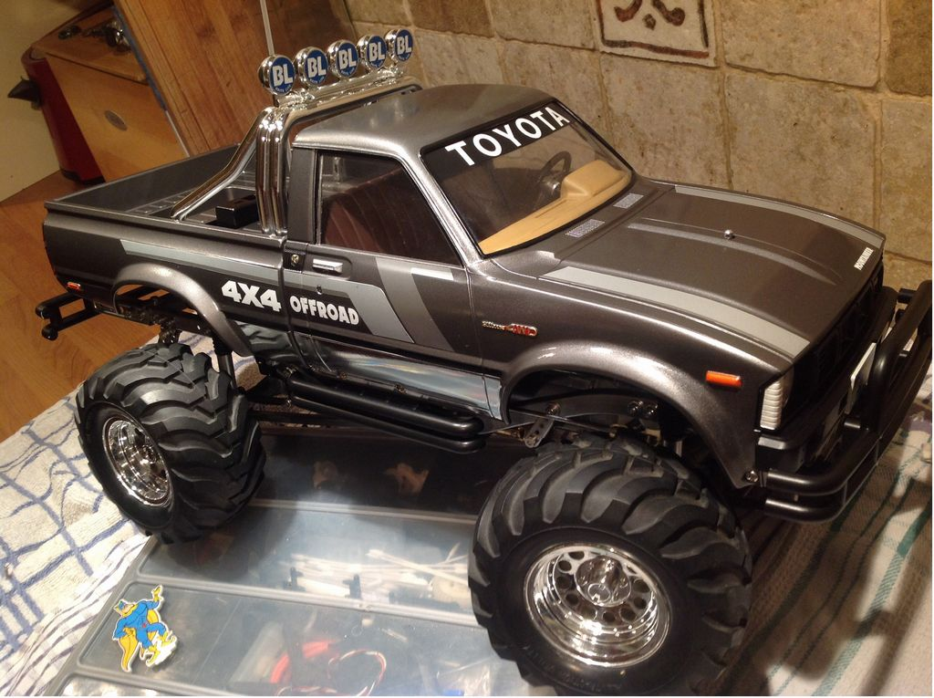 58111: Toyota 4x4 Pickup Mountaineer from millwall99 showroom, Mountaineer new build!!! - Tamiya ...