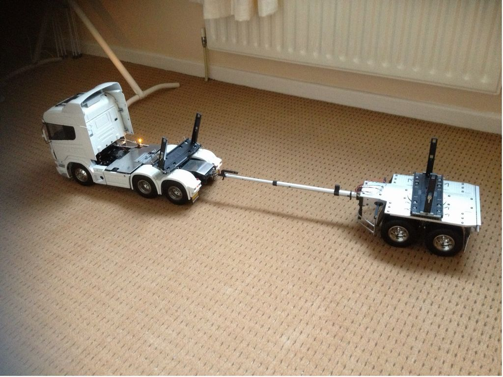 56310 Pole Trailer For Tamiya R C Tractor Truck From