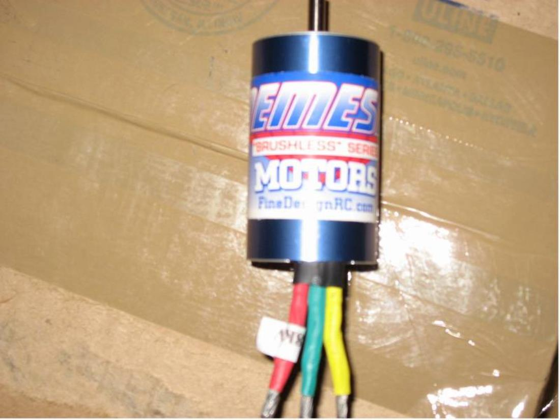 Bought This 10l Nemesis Brushless Motor With 5 Mm Shaft Was From Http Www Finedesignrc You Just Can Not Find Stuff In The Uk