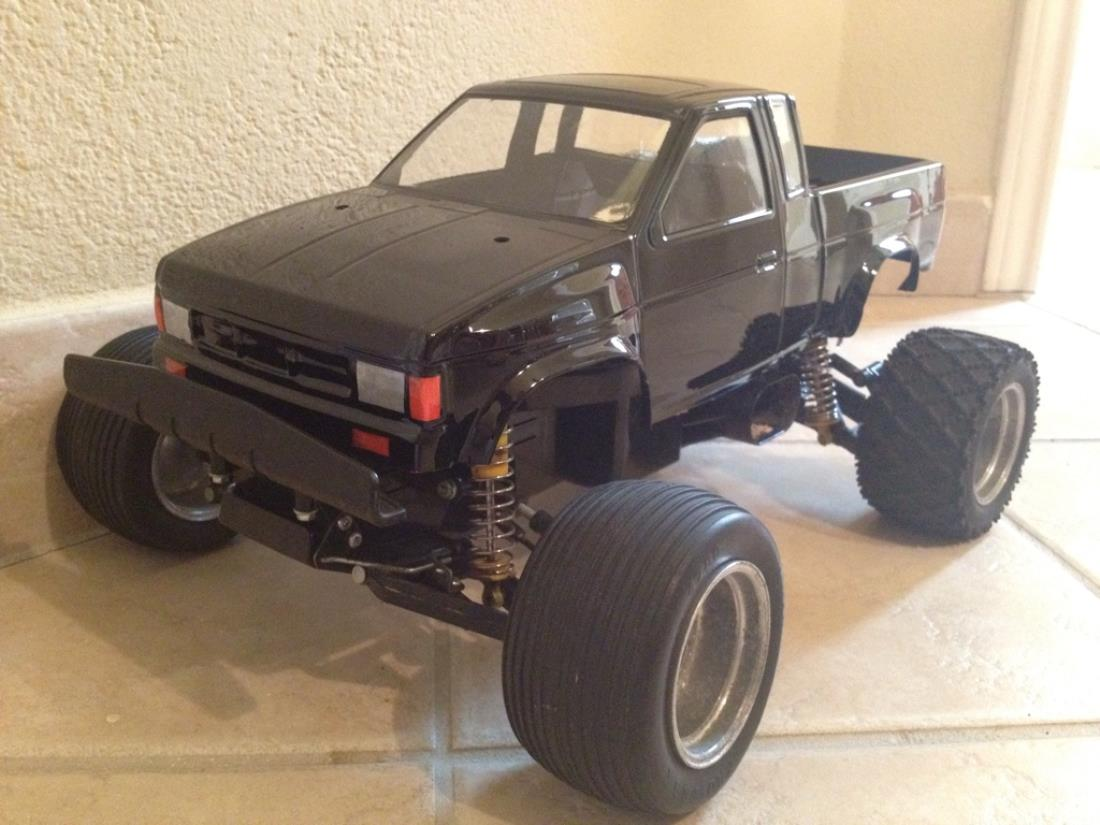 Rc 4runner Body >> 58081: Nissan King Cab from 4runner guy showroom, Tyco Bandit 9.6v turbo- CLONE - Tamiya RC ...