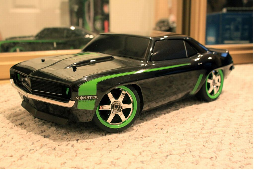 Types Of Car Lights >> 99981: Traxxas from Flat_Out showroom, Traxxas Monster Energy 1969 Camaro -Limited Edition ...