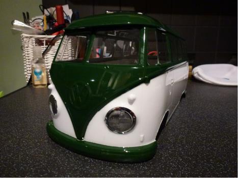 Tamiyaclub: 58512: Volkswagen Type 2 Wheelie - Tamiya RC & Radio