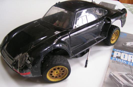 Porsche 959 4wd Tamiya Rc Radio Control Cars