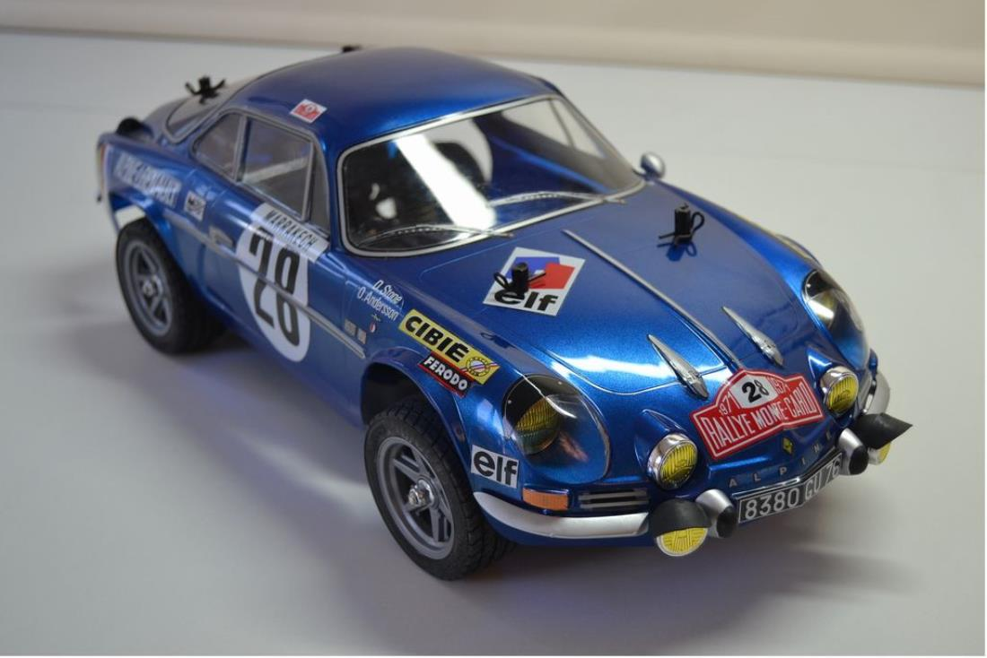 58591 Renault Alpine A110 71 From Hornetracer 1971 Showroom