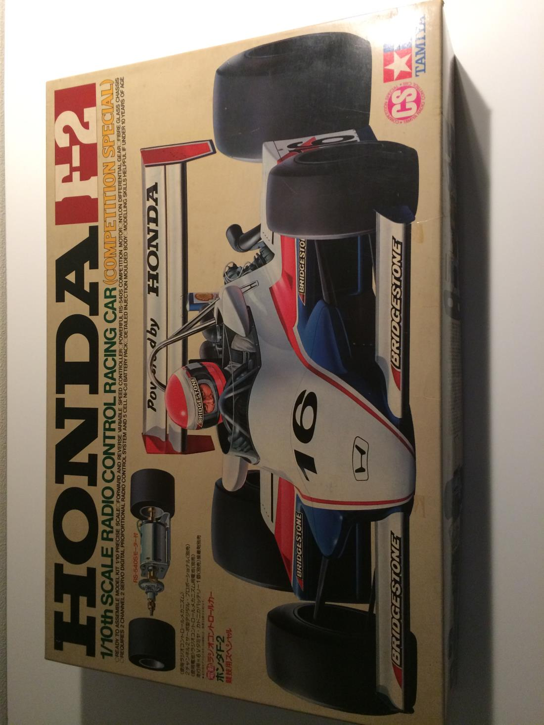 58030: Honda Formula 02 (CS) from Zidane showroom, A hard to