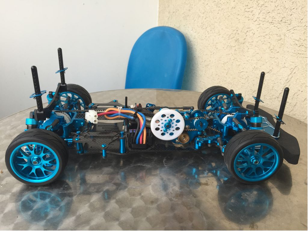 Ta05 Vdf 2 : Ta vdf drift chassis kit from psychodad showroom