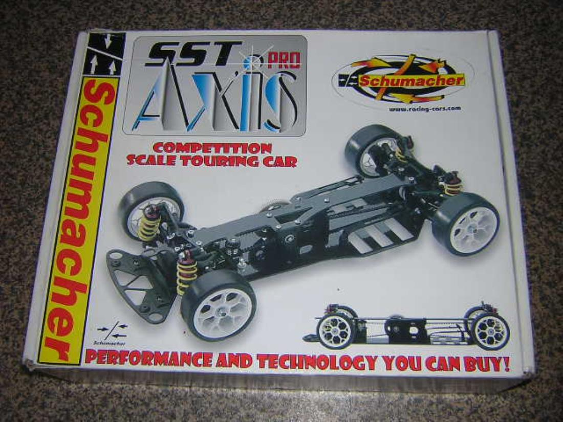 99989: Schumacher from bugged showroom, Schumacher Axis Pro - Tamiya