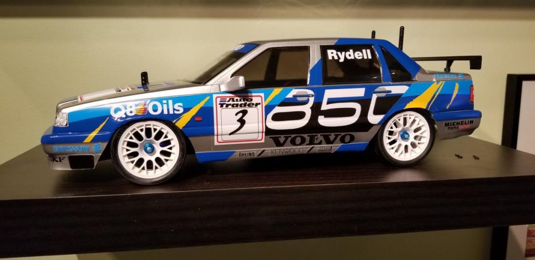 58183: Volvo 850 BTCC from Rwsummerfield showroom, Tamiya Volvo 850
