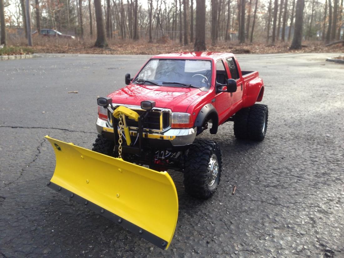 F350 Snow Plow >> 58372: Ford F350 High Lift from IhaveaBruiser showroom, Custom F350 Dually plow truck - Tamiya ...