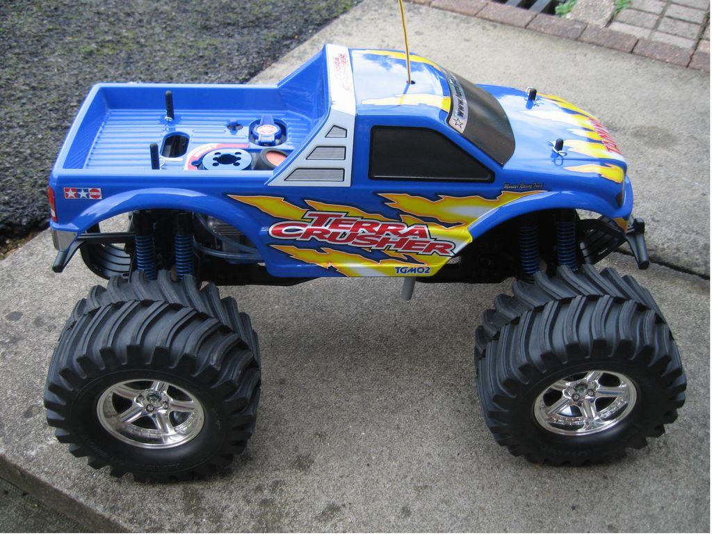 43501  4x4 monster truck terra crusher from disco showroom  spotless terra crusher from ebay